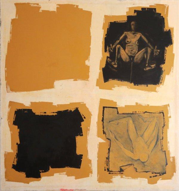 Huile sur toile, 2005, format 150x160