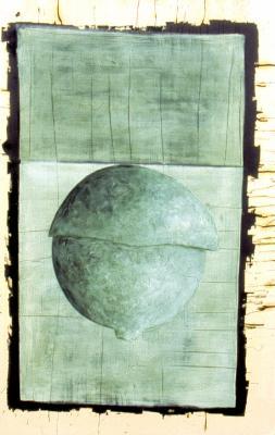 monde inversé, série de 7, format 160x225, 2006.