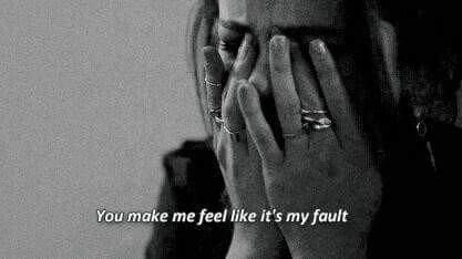 J'ai honte d'être ce que je suis...