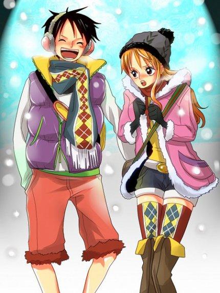 Luffy et nami blog de onepiece1110 - Image one piece nami ...