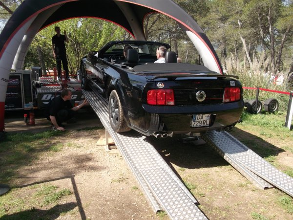 Passage au banc Ford Mustang GT/CS 2007