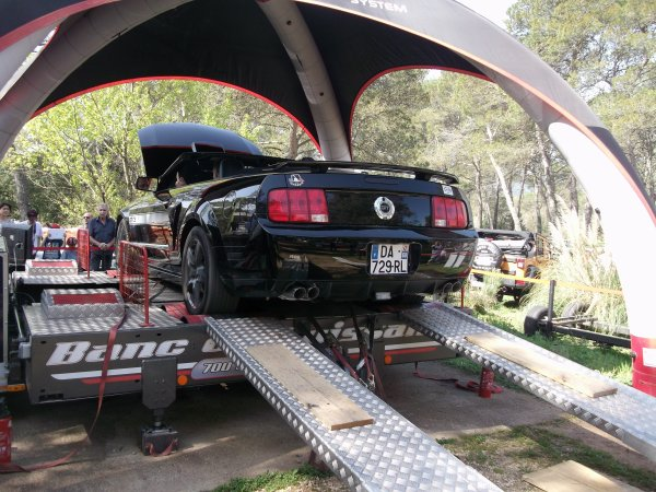 Passage au banc Ford Mustang GT/CS 2007