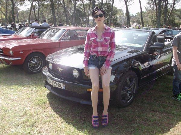 50 ans de la Mustang, au circuit du LUC