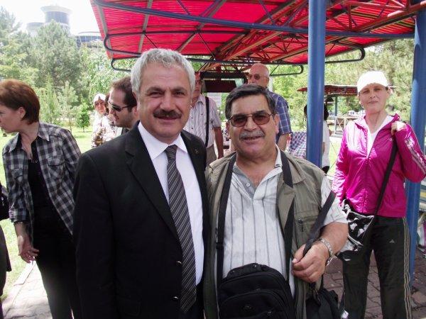 Kayseri ve Bursa eski valisi Nihat CANPOLAT ile...