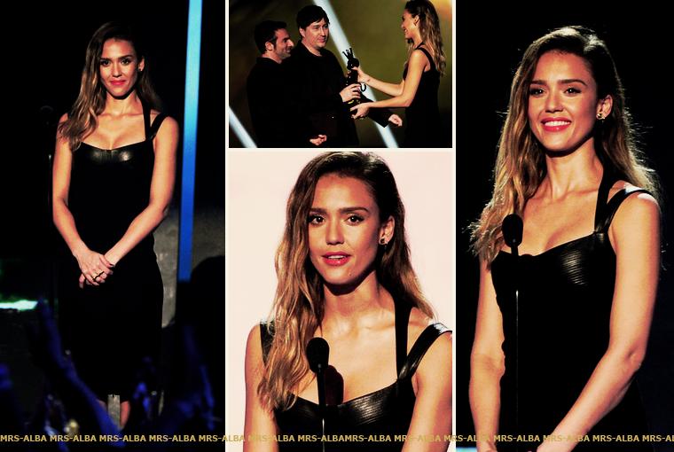 Jessica Alba aux Video Game Awards