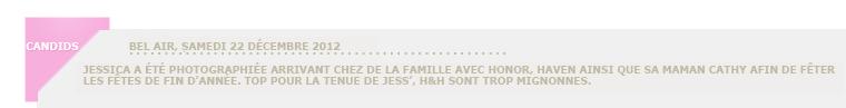 Jessica Alba de sortie avec Honor & Haven