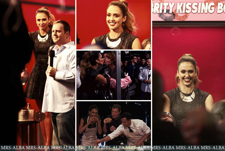 Jessica Alba au Jimmy Kimmel Live #JessicaAlba #JimmyKimmel