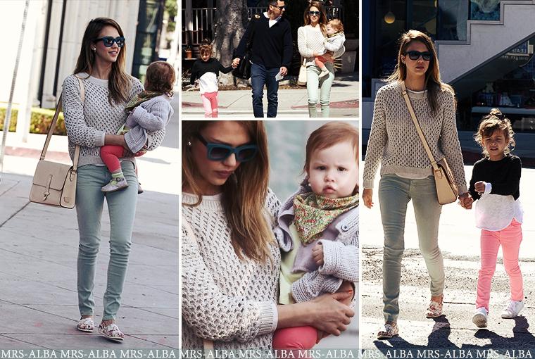 Jessica Alba de sortie avec sa famille #JessicaAlba #People