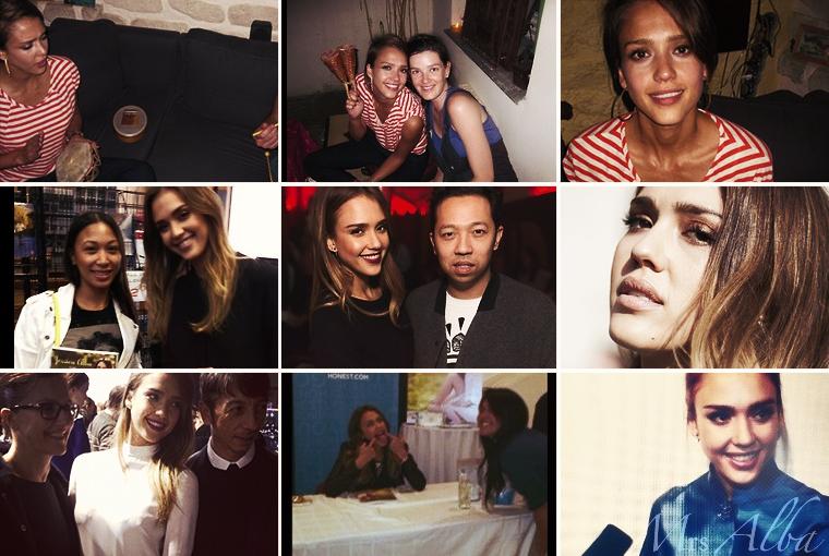 Jessica Alba sur les réseaux sociaux #JessicaAlba #People #Instagram