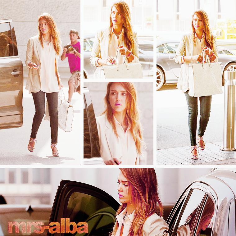 Jessica Alba de sortie dans Beverly Hills #JessicaAlba #people