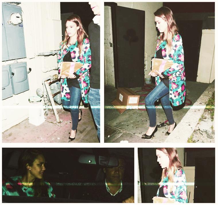 Jessica Alba allant dîner avec son mari, Cash Warren #JessicaAlba #CashWarren #People #Candids