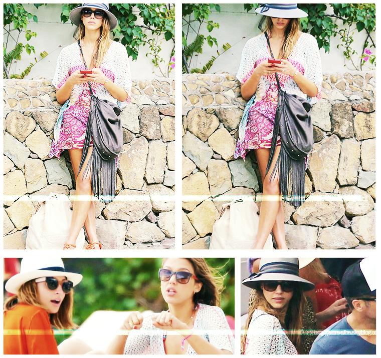 Jessica Alba à St Barts #JessicaAlba #Canon #Sexy #People #Fashion