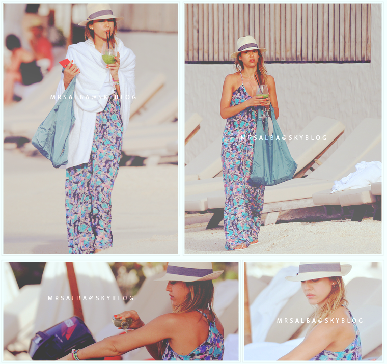 Jessica Alba à St Barts #JessicaAlba #People #Fashion #StBarts #Sexy #Canon