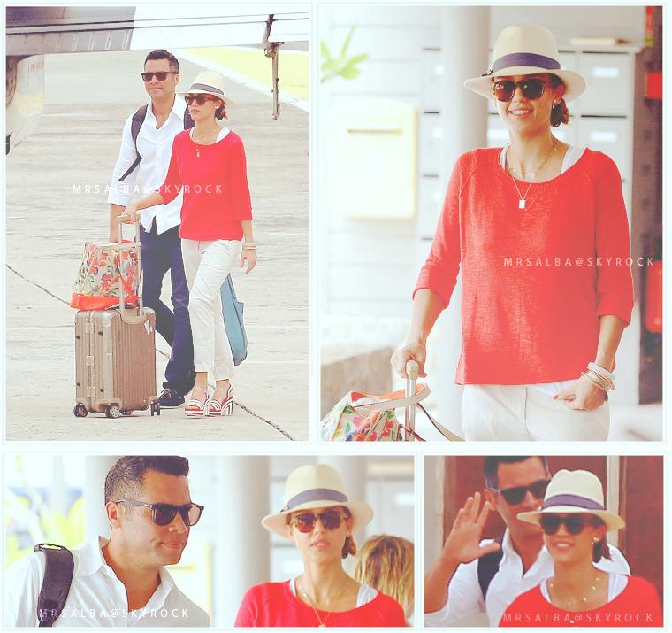 Jessica Alba, fini les vacances #JessicaAlba #People #Fashion