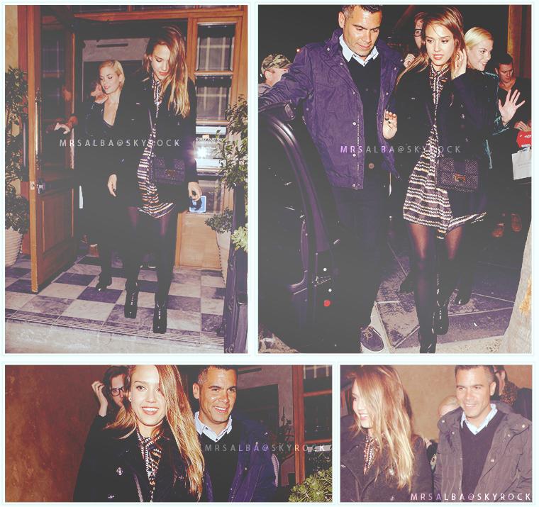 Jessica Alba quittant le RivaBella #JessicaAlba #People #Fashion