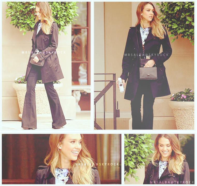 Jessica Alba de sortie dans Beverly Hills #JessicaAlba #People #Fashion