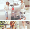 Jessica Alba se rendant chez des amis #JessicaAlba #People #Fashion