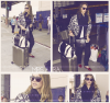 Jessica Alba à l'aéroport LAX #JessicaAlba @JessicaAlba #People #Fashion #instagram