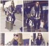 Jessica Alba à l'aéroport LAX #JessicaAlba @JessicaAlba #People #Fashion #instagram