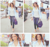 Jessica Alba à New-York #JessicaAlba #People #News #Fashion #Honest