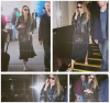 Jessica Alba arrivant à Los Angeles #JessicaAlba #People #Fashion