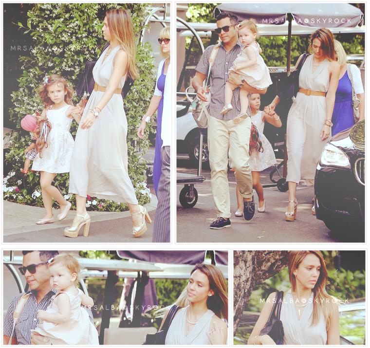 Jessica Alba fêtant la fête des mères #JessicaAlba #People #Fashion #MotherDay @JessicaAlba