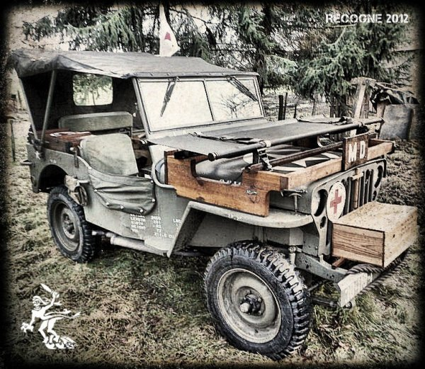 US Jeep ... Recogne 2012