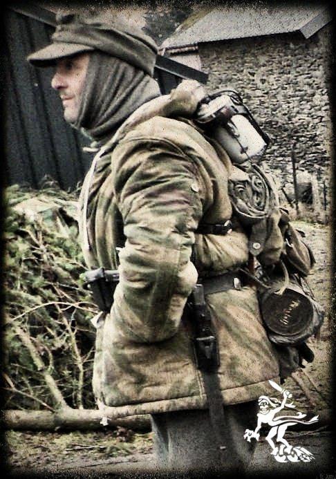 """Tony ... """"Les Fantômes de la 11ème Panzer"""" ... Recogne 2012"""