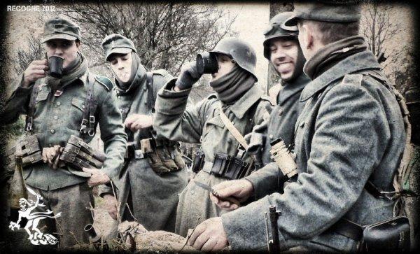 Recogne 2012 ... Les Fantômes de la 11ème Panzer