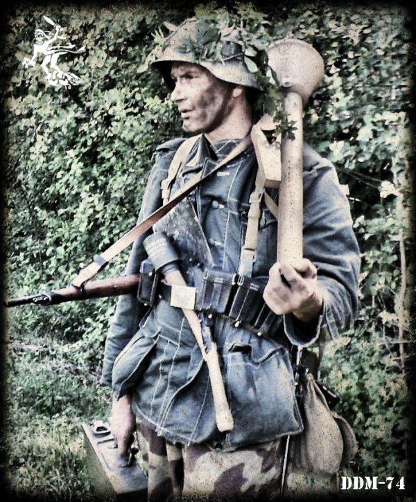 DDM-74 ... Aout 1944 ... 11eme Pz.Div.