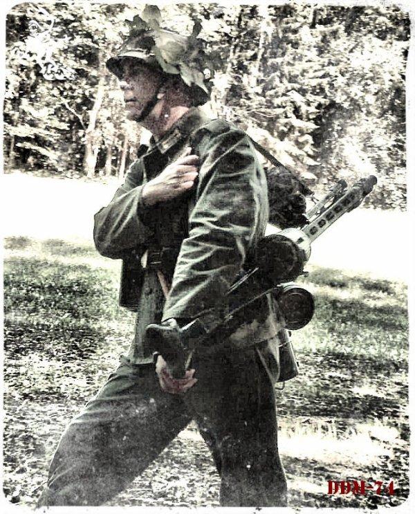 DDM-74 ... Aout 1944 - Bataille de Montélimar