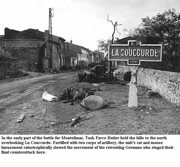 Bataille de Montélimar ... Aout 1944, l'enfer de la Coucourde