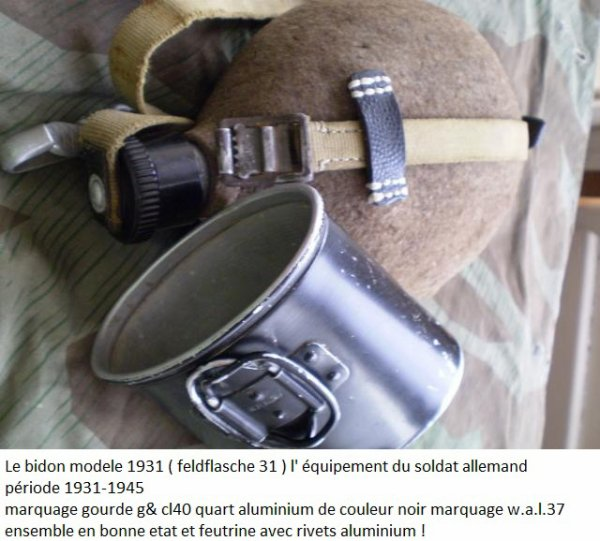 Bidon M1931 - Heer