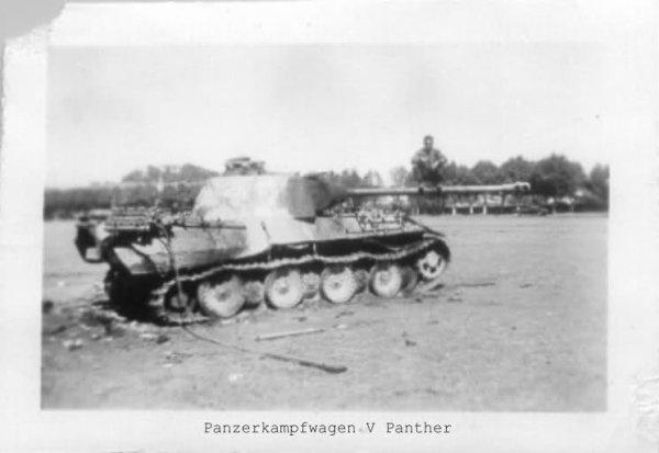 """La Bataille de Méximieux ... Aout 1944 ... Panther detruit dans le secteur dit de """" la prairie"""""""