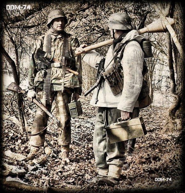 DDM-74 ... Kampfgruppe WILDE !!! ... Mars 1945, dans le secteur de Remagen