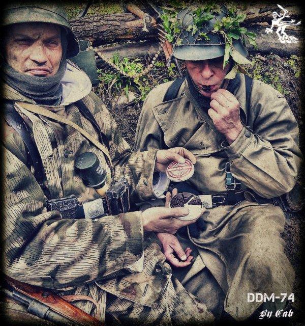 DDM-74 ... Sur les Hauteur de Seelow ! ... 1945