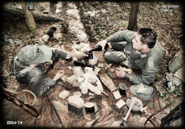 DDM-74 ... Aout 1944 ... quelques part du coté de lyon