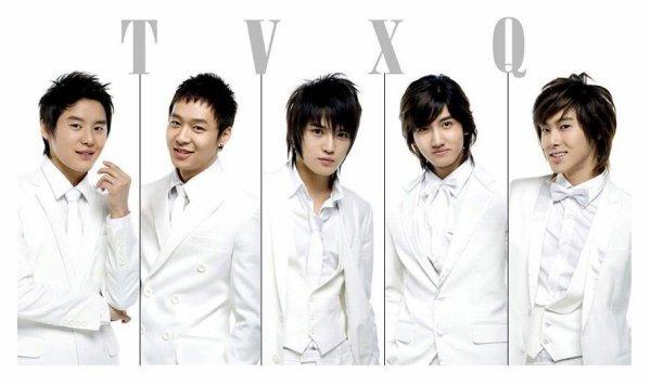 TVXQ groupe