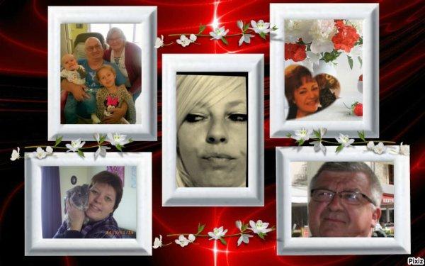 MERCI MON AMIE BLANCHE628 ET LOULOUET ROBERT ET ANGEL ET PERROQUET