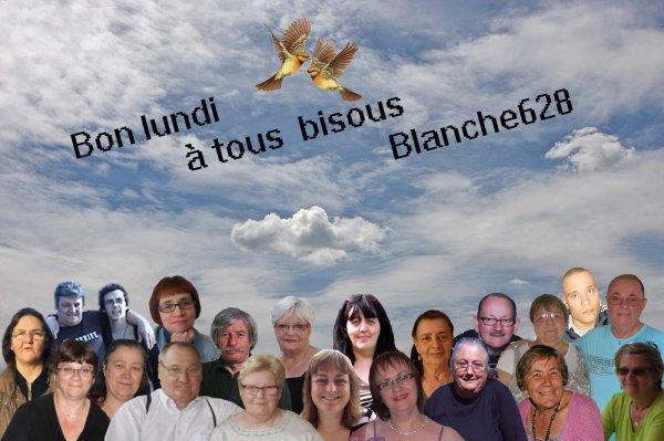 MERCI MON AMIE PETITE MAMIE DU 13 ET BLANCHE628