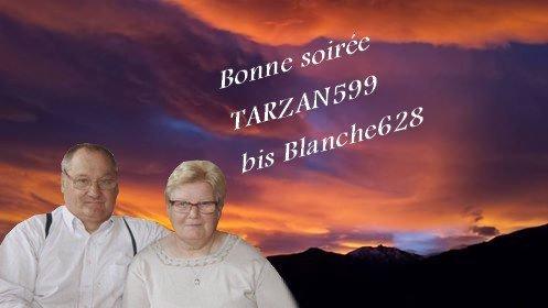 MERCI MON AMIE BLANCHE 628  ET LOULOU ET PETITE MAMIE ET MAMIE KDO ET MANON