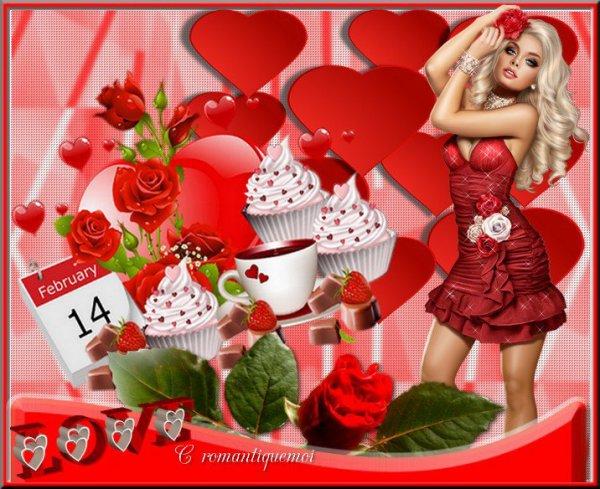 MERCI MON AMIE ROMANTIQUE MOI ET COEUR 455 ET MIAU