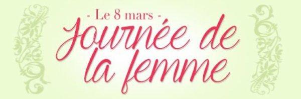 C LA JOURNEE DE LA FEMME  ET MERCI A MON AMIE PATTYVENT