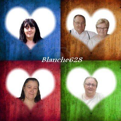 MERCI MON AMIE BLANCHE 628 ET LOULOU ET DANNY ET MANON ET MAMOUR KDO