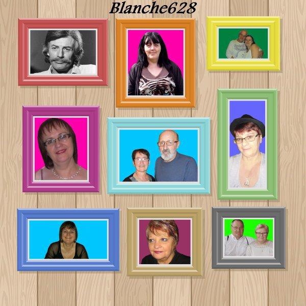MERCI MON AMIE BLANCHE 628 ET ANNICK 062 ET MANON