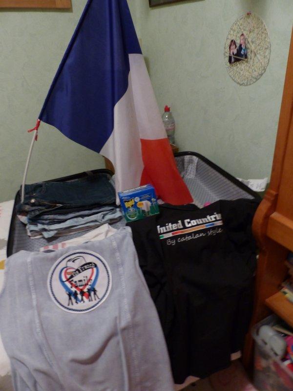 en mode préparation de valise