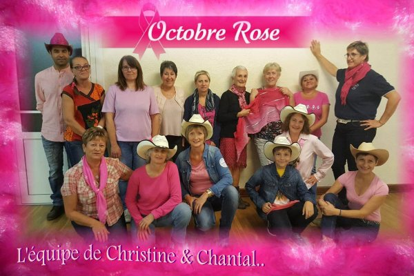 Octobre rose chez COUNTRY CATALN CLESSY