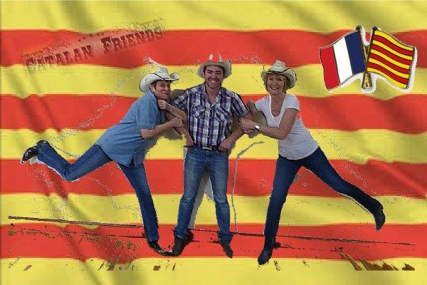 Préparation Bal chez les Electric boots catalan