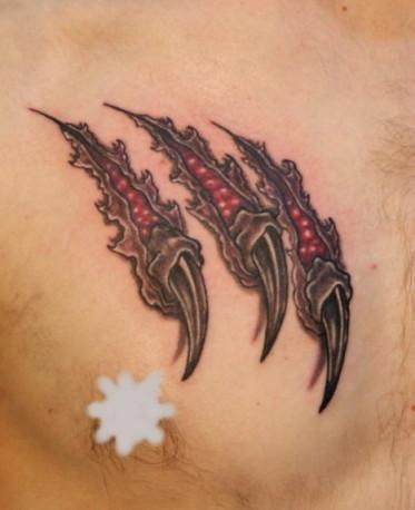 Tatouage - Griffure du Dragon