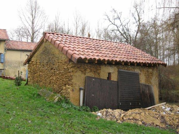 Réfection toit de la bergerie